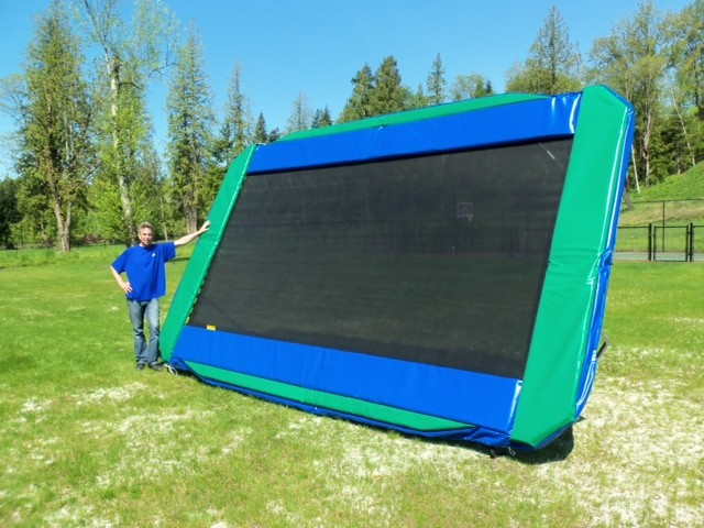 11' x 17' Olympic Trainer - Gold (Our Best Olympic style trampoline)