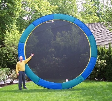14' Gold Medalist (Our Most Popular Trampoline)