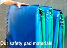 14'-12-Sided Frame Safety Pads