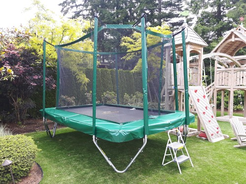 9' X 13' Pro-Trainer (Another great size for smaller backyards comes complete with enclosure)